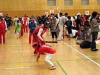 ネパール選手の小太刀戦